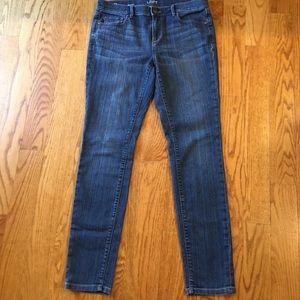 Ann Taylor loft modern skinny jeans size 8